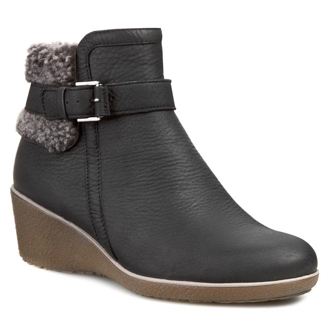 Boots ECCO Shiver Wedge 22062357487 Black