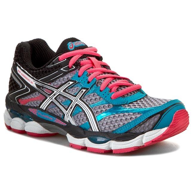 Shoes ASICS - Gel-Cumulus 16 T489N Aluminium/White/Paradise Pink 7101