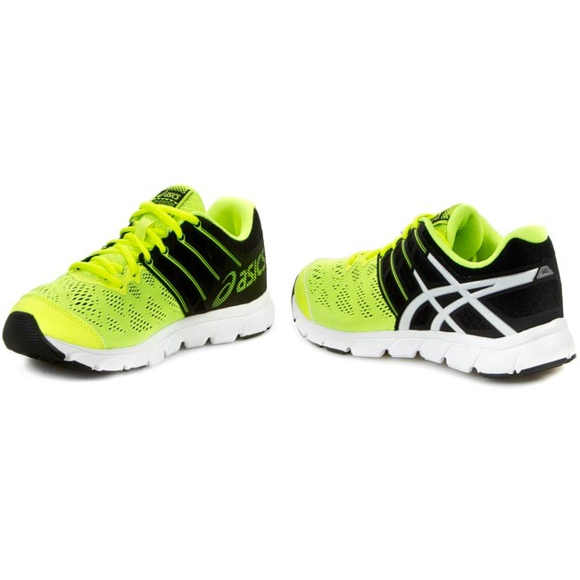 Shoes ASICS Gel Evation T42RQ Flash YellowWhiteBlack