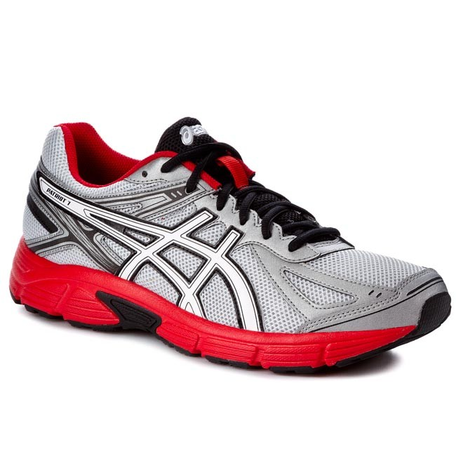 Shoes ASICS - Patriot 7 T4D1N Silver/White/Red 9301