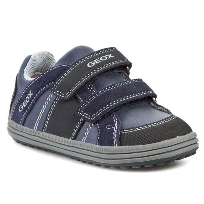 Nueva Zelanda Corroer lago  Shoes GEOX - J Elvis J J44A4J 05422 C0661 Morski/Szary - Velcro - Low shoes  - Boy - Kids' shoes | efootwear.eu