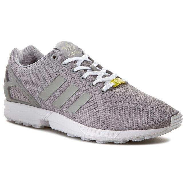 arriving united kingdom new arrival Shoes adidas - ZX FLUX M19838 Alumin/Runwhi