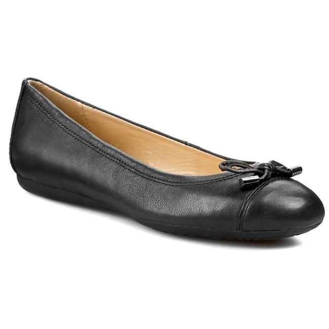 la mejor calidad para hermosa en color Amazonas Flats GEOX - D Lola A D93M4A 00043 C9999 Black - Ballerina shoes ...