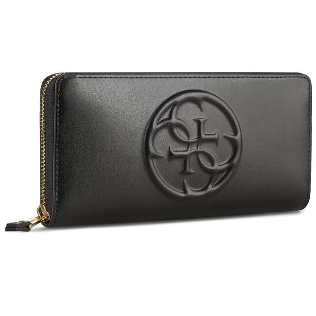 Large Women's Wallet GUESS - Amy SLG SWAMY1 L5246 BLA