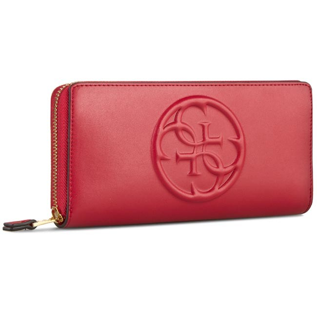 Large Women's Wallet GUESS - Amy SLG SWAMY1 L5246 RED