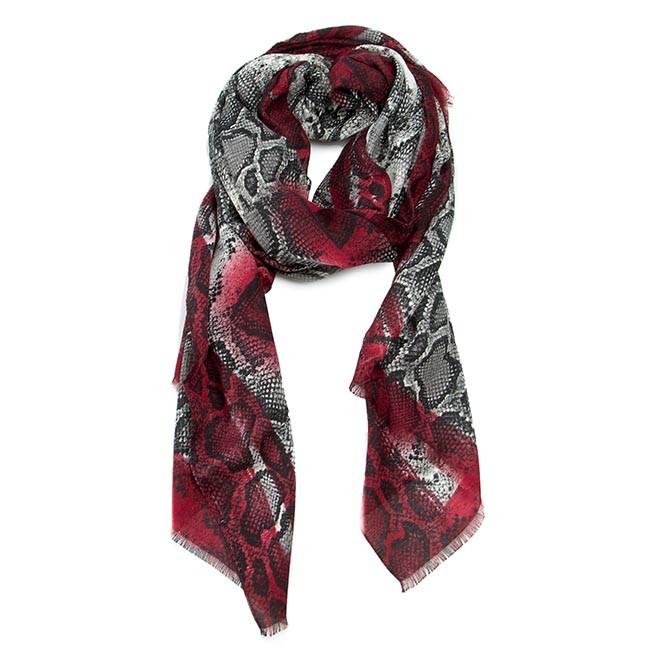 Head-scarf GUESS - Winter Savannah AW7086 POL03  GRY
