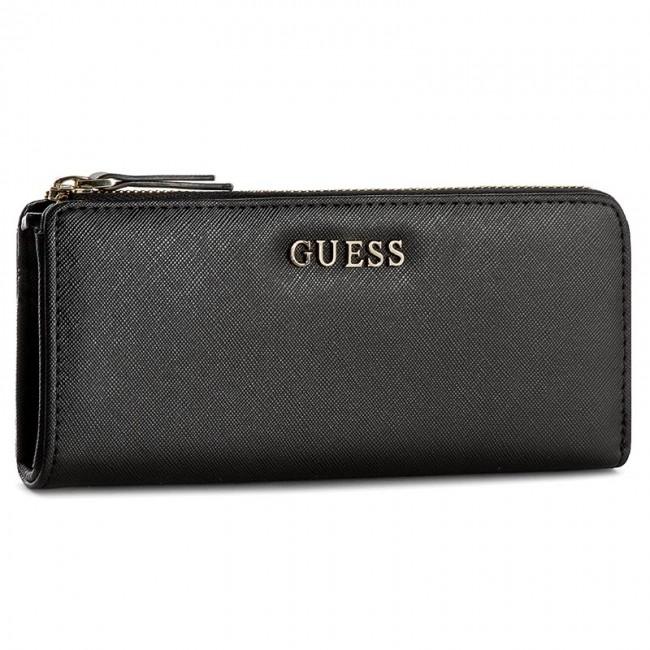 Large Women's Wallet GUESS - Gigi SLG SWSISS P6193 BLA