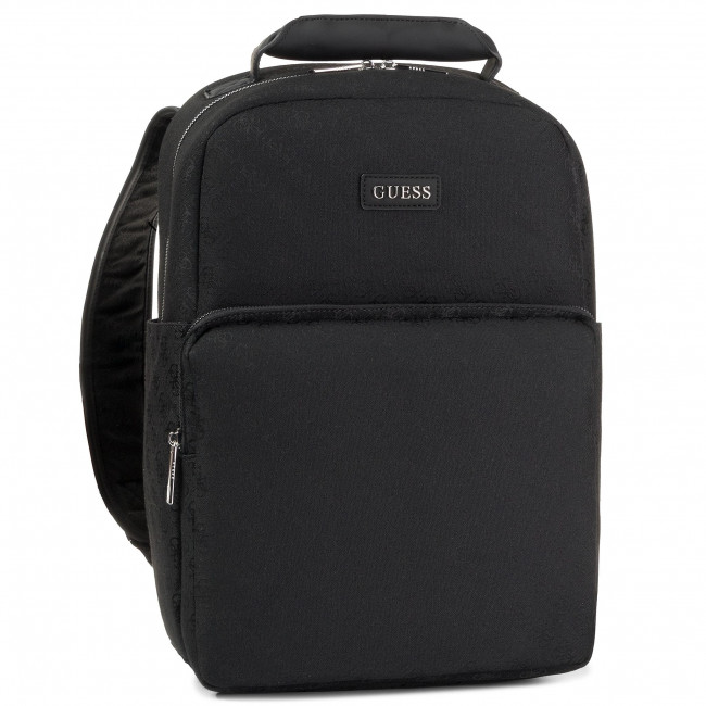 Backpack GUESS Icon Jacquard HM6924 PL201 BLA