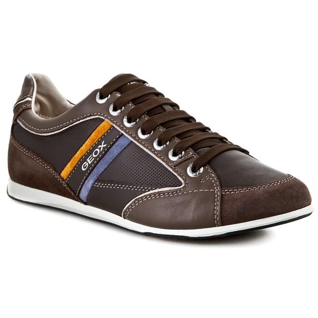 limpiar amargo Floración  Sneakers GEOX - U Andrea P U01Z2P 00043 C6137 Ebony/Taupe - Sneakers - Low  shoes - Men's shoes | efootwear.eu
