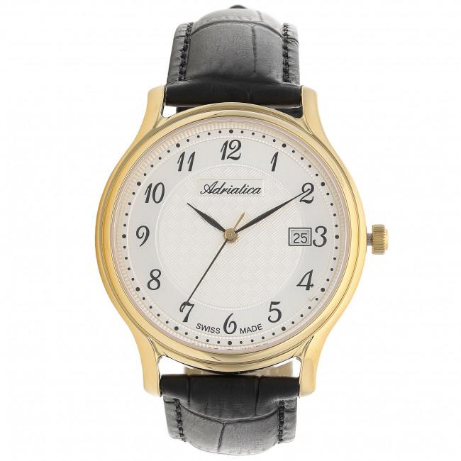 Wristwatch ADRIATICA - A8000.1223Q Black/Gold