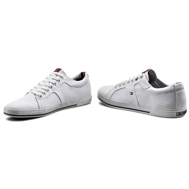 Plimsolls TOMMY HILFIGER Harry 9D FM56819122 White 100