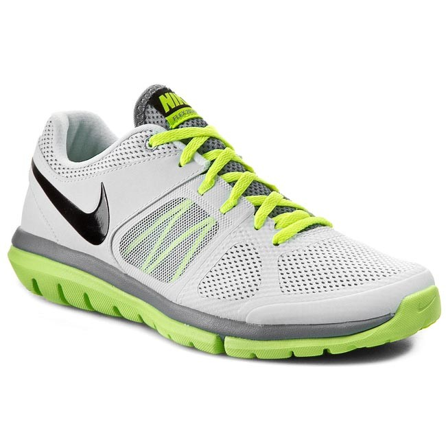 Shoes NIKE Flex 2014 Rn Msl 642800 101 WhiteBlack VoltDove Grey
