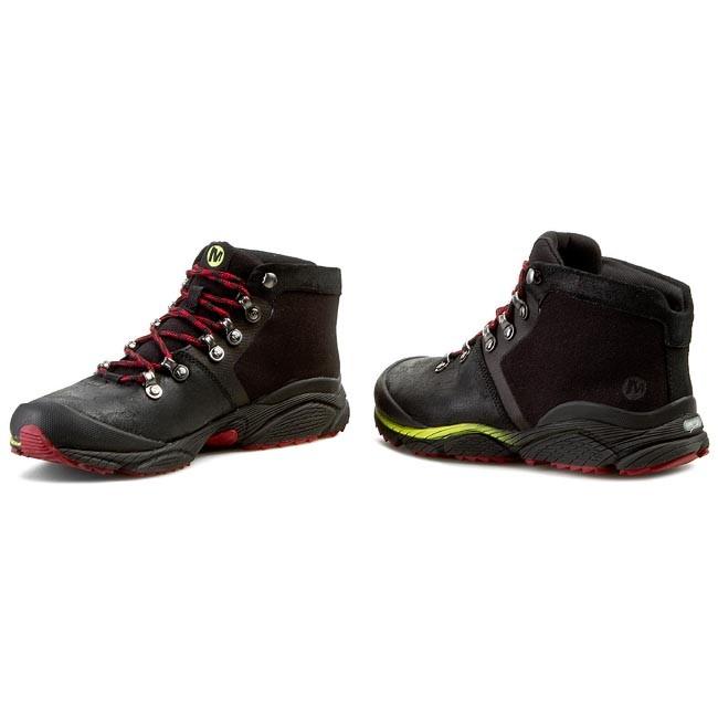 Merrel Black Leather Women Shoe