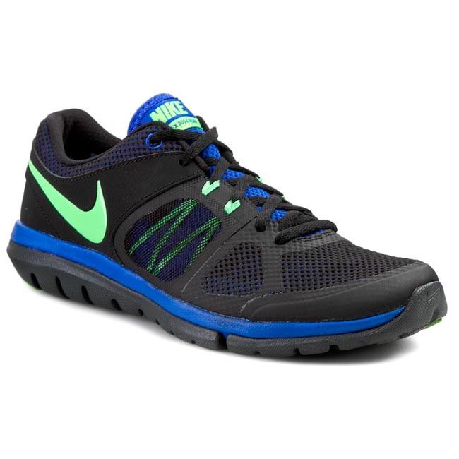 Shoes NIKE Flex 2014 Rn Msl 642800 028 BlackPsn GreenLyn BlAnthracite