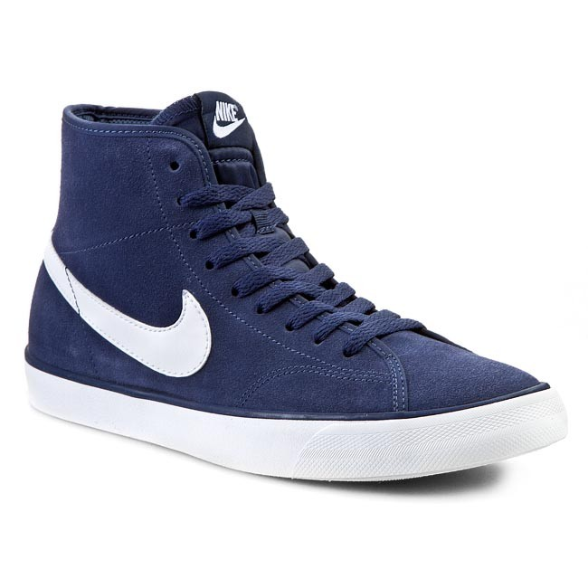rápido col china Galantería  Shoes NIKE - Primo Court Mid Leather 644833 419 Midnight Navy/White -  Sneakers - Low shoes - Men's shoes | efootwear.eu