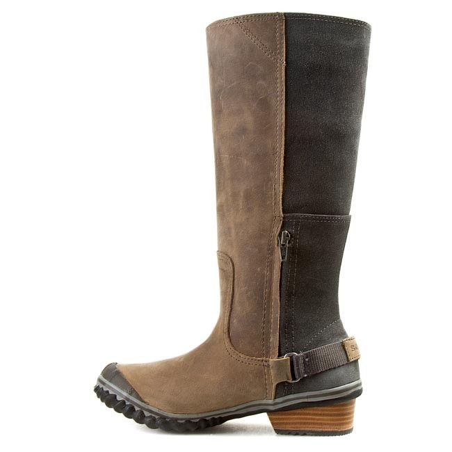 knee high boots sorel slimboot nl 2108 008 stratus quary