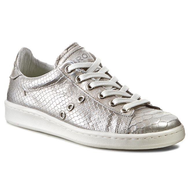 Shoes BRONX - 65222A-K BX 827 Silver 100