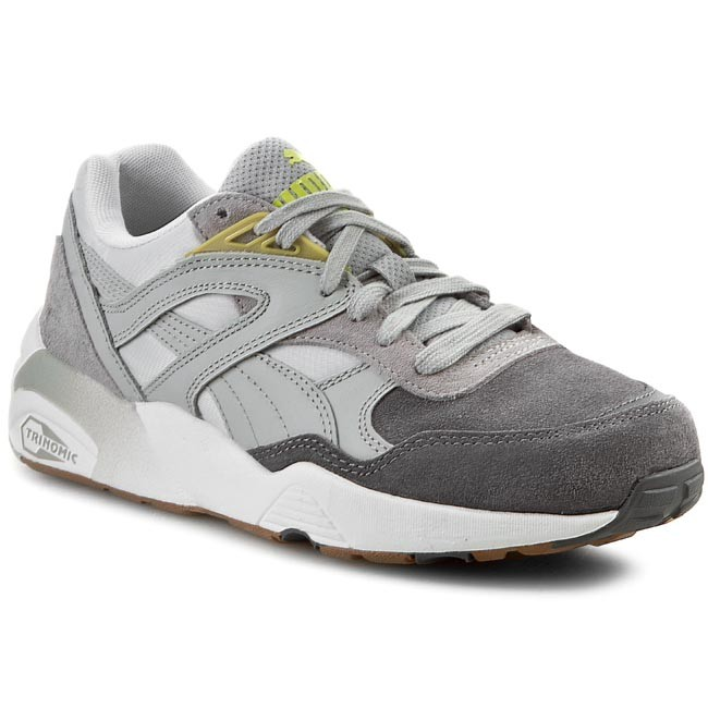 Shoes PUMA - Trinomic R698 Blocks And Strips Wh's 358069 03 Gray Violet