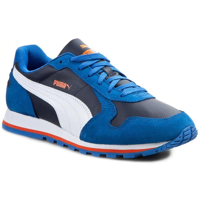 Shoes PUMA - St Runner L 356737 06 Strong Blue/White/Peacoat