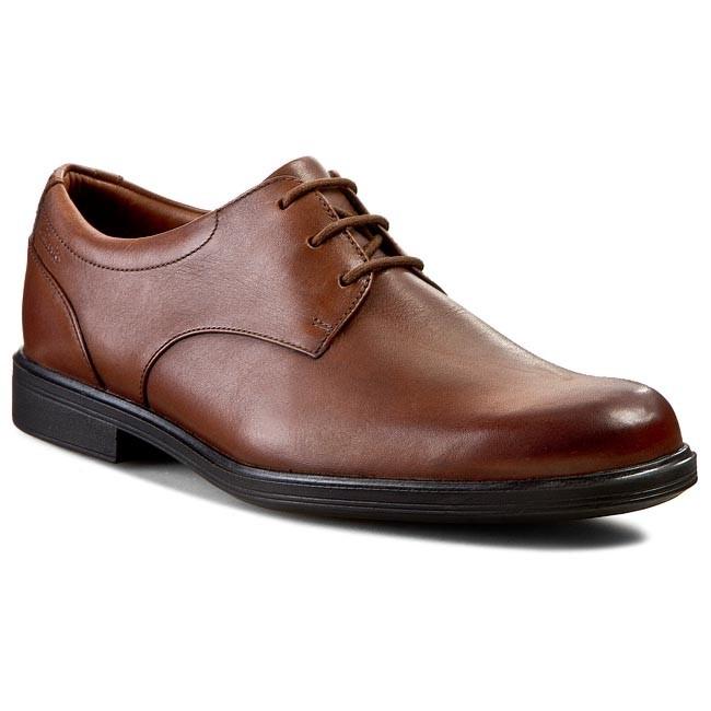 Shoes CLARKS - Gabson Walk 261046377 Walnut