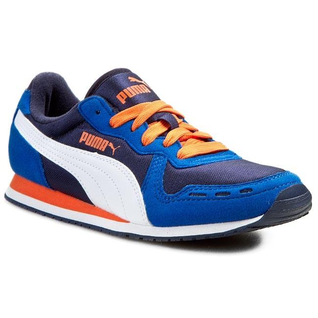 Shoes PUMA - Cabana Racer Mesh Jr 356372 08 Strong Blue/Peacoat/White