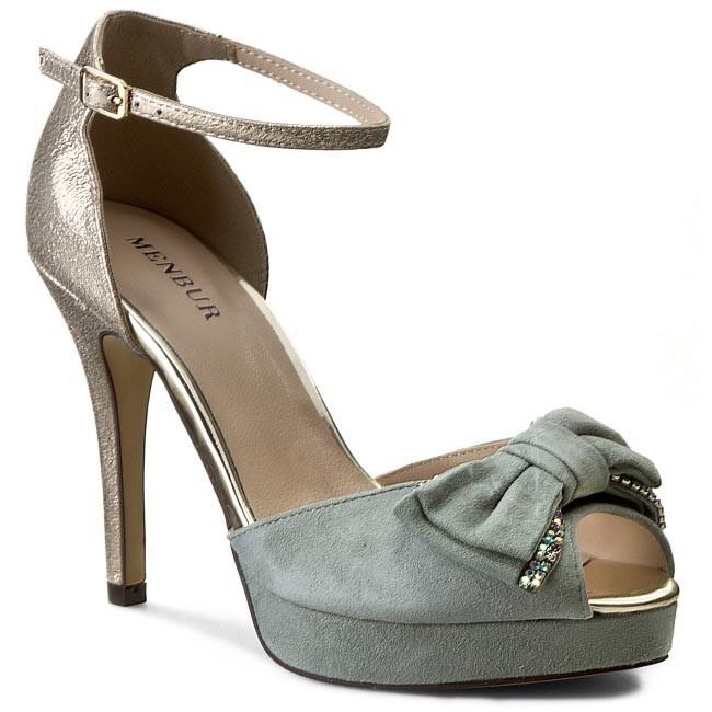 Sandals MENBUR - 006269 Blue Shadow/Azul Empolvad 096