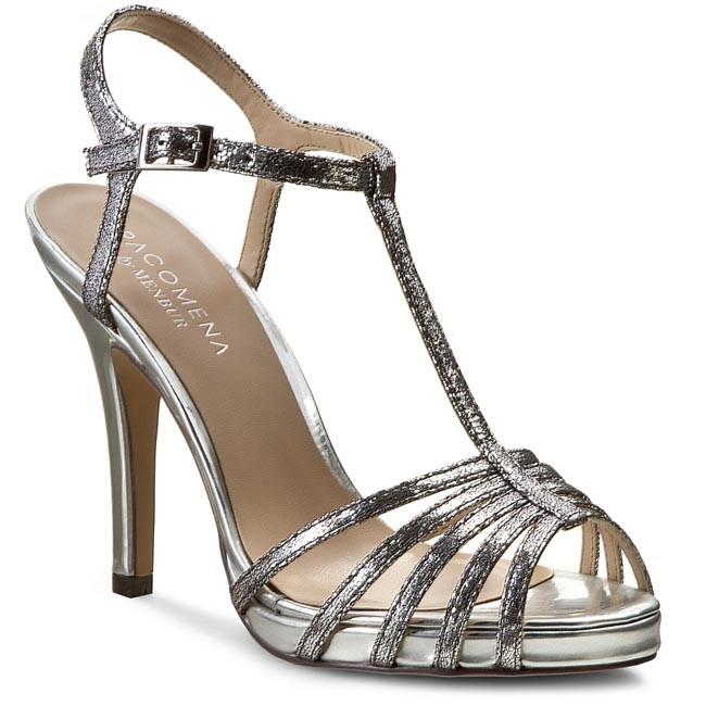 Sandals MENBUR - 006302 Silver/Plata 009