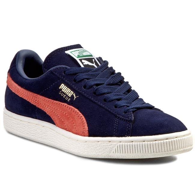 Shoes PUMA - Suede Classic+ 356568 42 Peacoat/Nasturtium