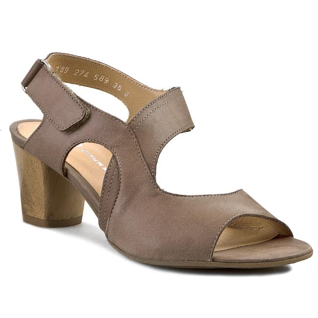 Sandals BUT-S - Z274-K04-0G1 Brown