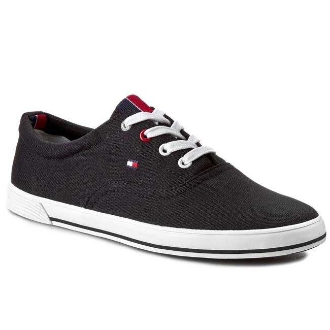 Plimsolls TOMMY HILFIGER - Harry 8D FM56819115  Black 990
