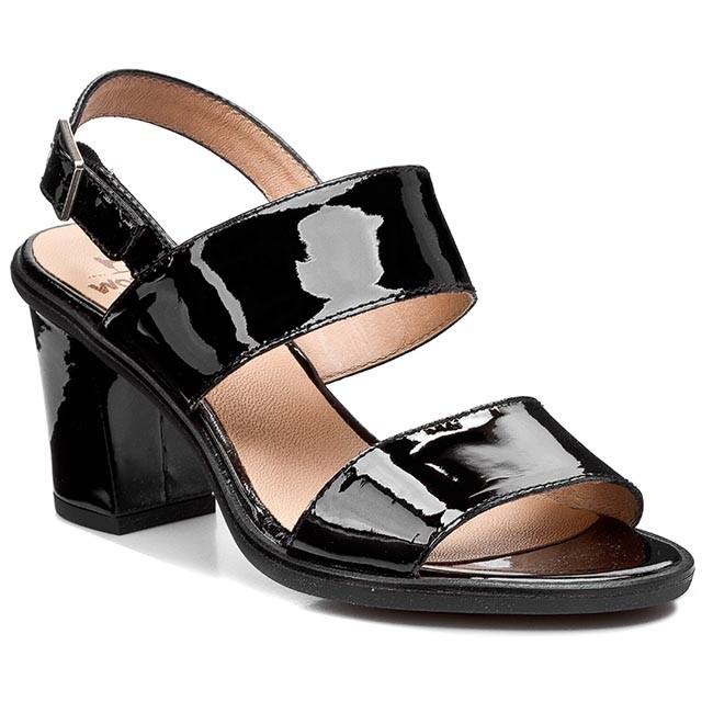 Sandals WONDERS - H-2901 Charol Negro
