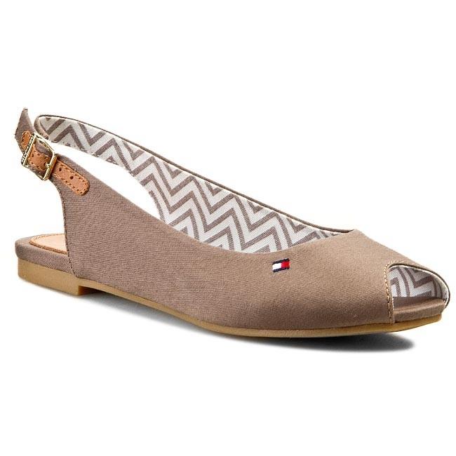 Sandals TOMMY HILFIGER - Amy 22C FW56818852 Shitake 230