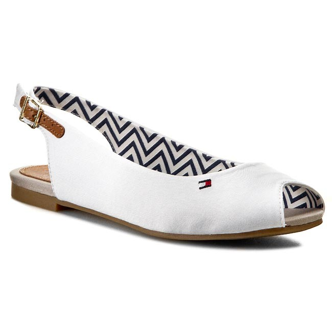 Sandals TOMMY HILFIGER - Amy 22C FW56818852 White 100