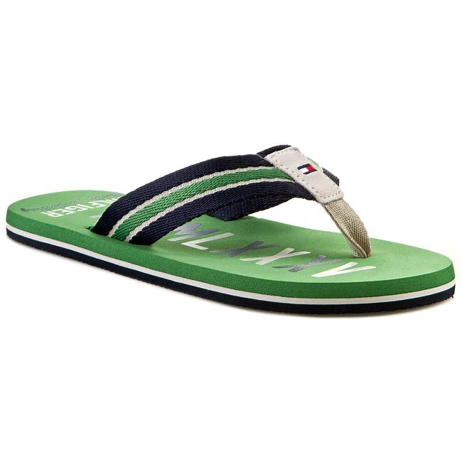 Slides TOMMY HILFIGER - Barney 6D FM56818895  Juniper/Midnight 081