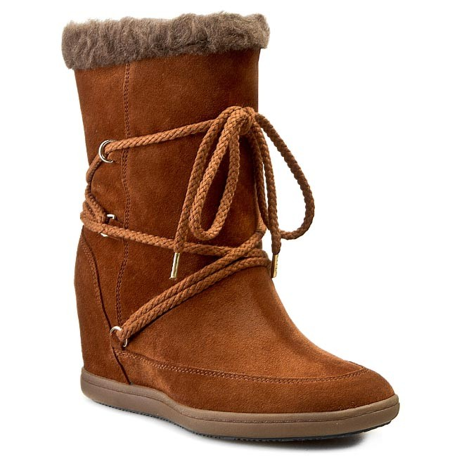 Boots TOMMY HILFIGER - Stella 6B FW56817664 Winter Cognac 906