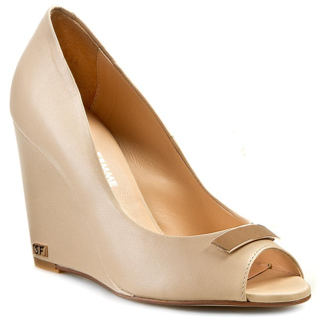 Wedges SOLO FEMME - 26402-32-D99/000-05-00 Beige