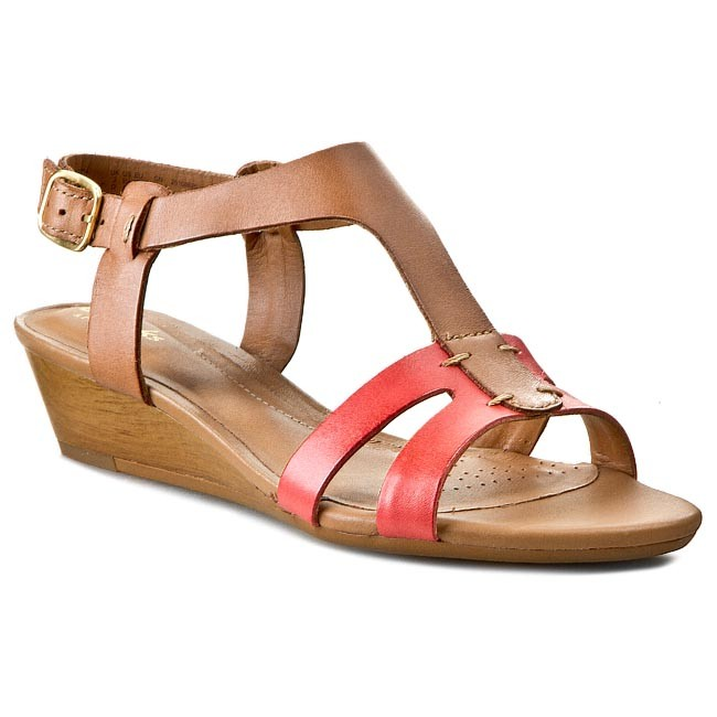Sandals CLARKS - Playful Game 261086254 Nude