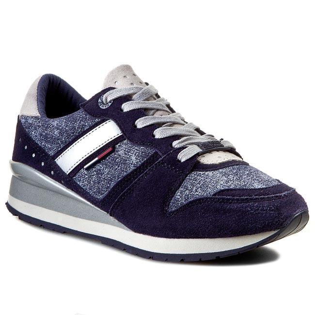 Sneakers TOMMY HILFIGER - DENIM - Land 1B EN56818747  Blue Graphite 408