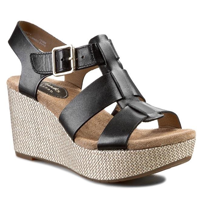 Sandals CLARKS - Caslynn Reece 261056974 Black