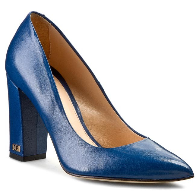 Shoes SOLO FEMME - 14101-02-C90/000-04-00 Granatowy