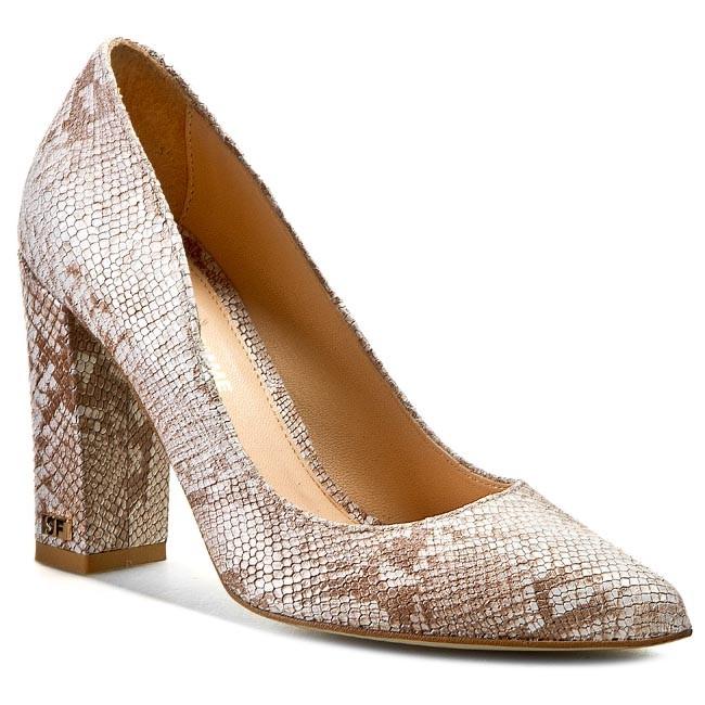 High Heels SOLO FEMME - 14101-02-E11/000-04-00 Beige