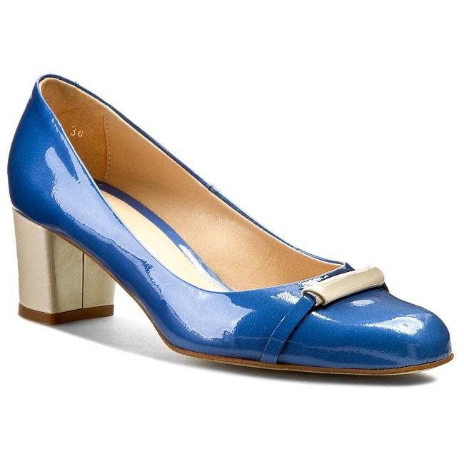 Shoes SOLO FEMME - 42002-02-D88/E09-04-00 Perłowy Niebieski