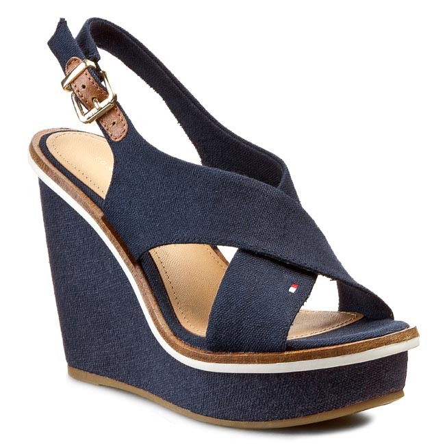 Sandals TOMMY HILFIGER - Ivana 5D FW56818646 Midnight 403