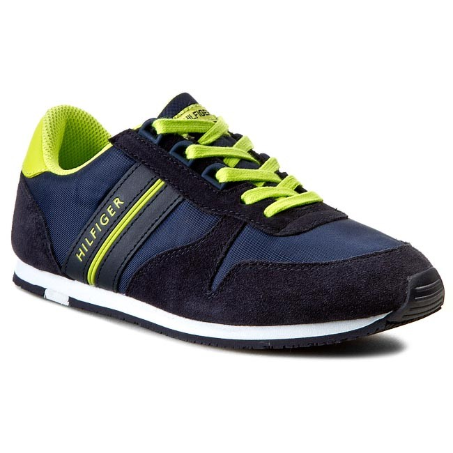 Shoes TOMMY HILFIGER - Jagger 6C FB56819020 Midnight/Lime Punch 403 D