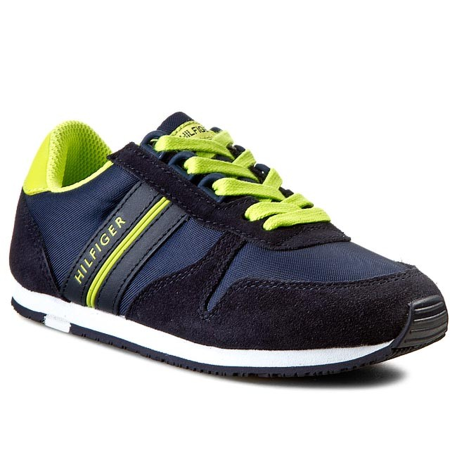 Shoes TOMMY HILFIGER - Jagger 6C FB56819020 Midnight/Lime Punch 403