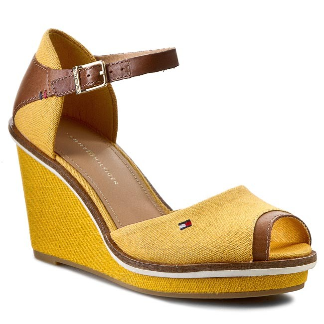 Sandals TOMMY HILFIGER - Emily 11C FW56818571 Mineral Yellow 722