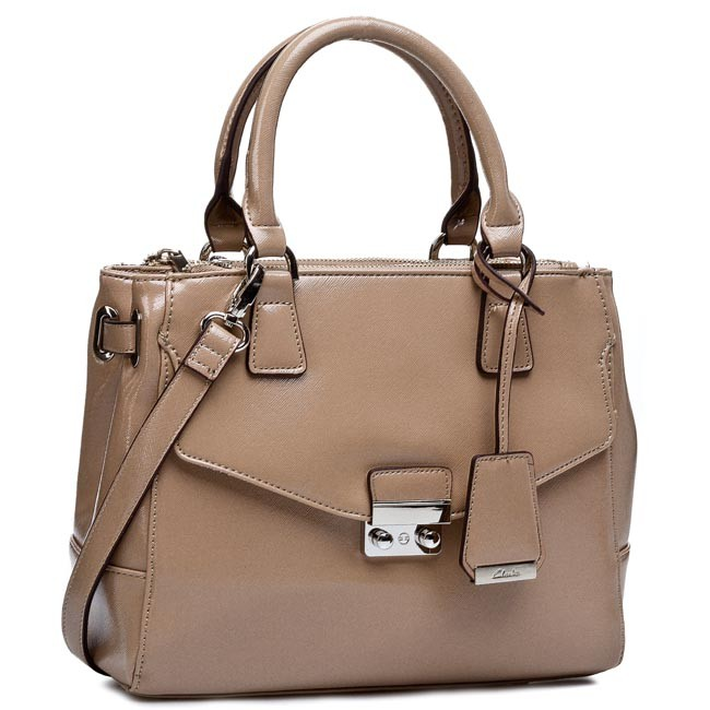 Handbag CLARKS - Marley Cara 261087610 Oyster