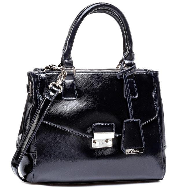 Handbag CLARKS - Marley Cara 261087630 Navy