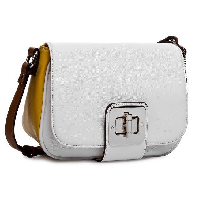 Handbag CLARKS - Milli Petal 261084870 White Combi
