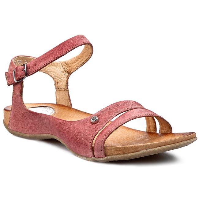 Sandals CARINII - B2084 Bordo